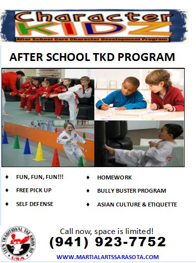 characterkidz afterschool flyer